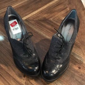 NWT Marc Fisher Barrett Oxford Heels